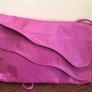 Saereum of New York Pink Leather Handbag